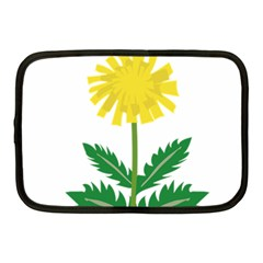 Sunflower Floral Flower Yellow Green Netbook Case (medium)