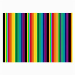 Multi Colored Colorful Bright Stripes Wallpaper Pattern Background Large Glasses Cloth by Nexatart