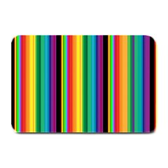 Multi Colored Colorful Bright Stripes Wallpaper Pattern Background Plate Mats by Nexatart