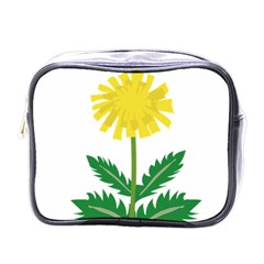 Sunflower Floral Flower Yellow Green Mini Toiletries Bags