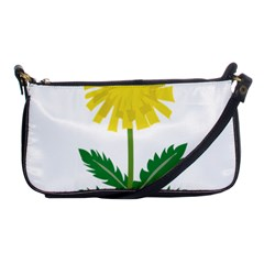 Sunflower Floral Flower Yellow Green Shoulder Clutch Bags by Mariart