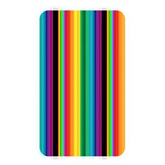 Multi Colored Colorful Bright Stripes Wallpaper Pattern Background Memory Card Reader by Nexatart