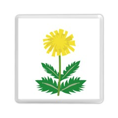Sunflower Floral Flower Yellow Green Memory Card Reader (square)