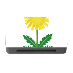 Sunflower Floral Flower Yellow Green Memory Card Reader With Cf