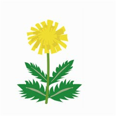 Sunflower Floral Flower Yellow Green Large Garden Flag (two Sides)