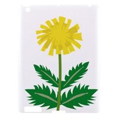 Sunflower Floral Flower Yellow Green Apple Ipad 3/4 Hardshell Case