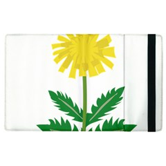 Sunflower Floral Flower Yellow Green Apple Ipad 2 Flip Case by Mariart
