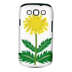 Sunflower Floral Flower Yellow Green Samsung Galaxy S Iii Classic Hardshell Case (pc+silicone)