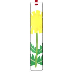 Sunflower Floral Flower Yellow Green Large Book Marks