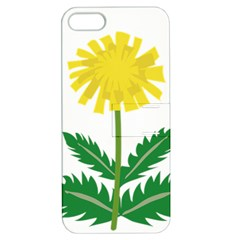 Sunflower Floral Flower Yellow Green Apple Iphone 5 Hardshell Case With Stand