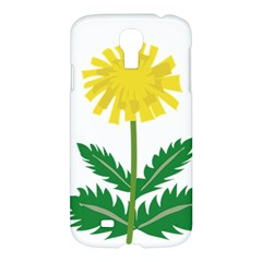 Sunflower Floral Flower Yellow Green Samsung Galaxy S4 I9500/i9505 Hardshell Case by Mariart