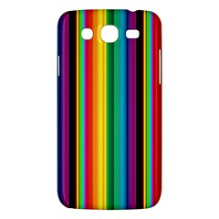 Multi Colored Colorful Bright Stripes Wallpaper Pattern Background Samsung Galaxy Mega 5 8 I9152 Hardshell Case