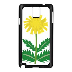 Sunflower Floral Flower Yellow Green Samsung Galaxy Note 3 N9005 Case (black)