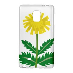 Sunflower Floral Flower Yellow Green Galaxy Note Edge