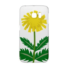 Sunflower Floral Flower Yellow Green Galaxy S6 Edge