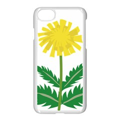 Sunflower Floral Flower Yellow Green Apple Iphone 7 Seamless Case (white) by Mariart