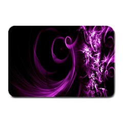 Purple Flower Floral Plate Mats