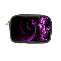 Purple Flower Floral Coin Purse by Mariart