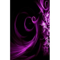Purple Flower Floral 5 5  X 8 5  Notebooks by Mariart