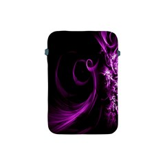 Purple Flower Floral Apple Ipad Mini Protective Soft Cases
