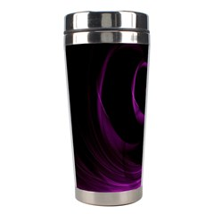 Purple Flower Floral Stainless Steel Travel Tumblers by Mariart