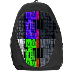 Repeated Tapestry Pattern Backpack Bag by Nexatart