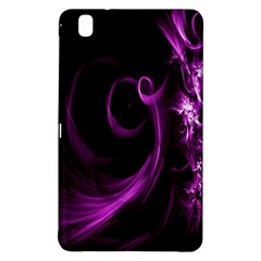 Purple Flower Floral Samsung Galaxy Tab Pro 8 4 Hardshell Case