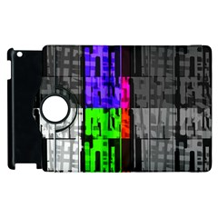 Repeated Tapestry Pattern Apple Ipad 2 Flip 360 Case by Nexatart