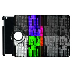 Repeated Tapestry Pattern Apple Ipad 3/4 Flip 360 Case by Nexatart