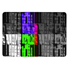 Repeated Tapestry Pattern Samsung Galaxy Tab 8 9  P7300 Flip Case by Nexatart