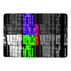 Repeated Tapestry Pattern Samsung Galaxy Tab Pro 10 1  Flip Case by Nexatart