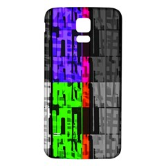 Repeated Tapestry Pattern Samsung Galaxy S5 Back Case (white)