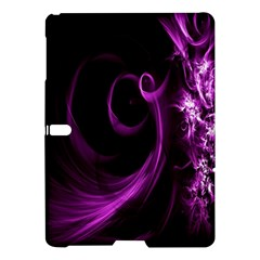 Purple Flower Floral Samsung Galaxy Tab S (10 5 ) Hardshell Case