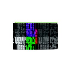 Repeated Tapestry Pattern Cosmetic Bag (xs) by Nexatart