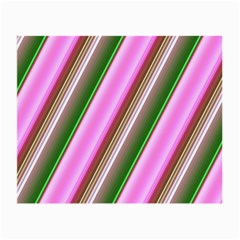 Pink And Green Abstract Pattern Background Small Glasses Cloth (2 Side) by Nexatart