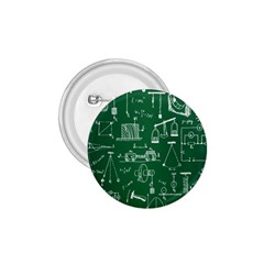 Scientific Formulas Board Green 1 75  Buttons by Mariart