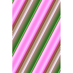 Pink And Green Abstract Pattern Background 5 5  X 8 5  Notebooks by Nexatart