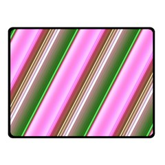 Pink And Green Abstract Pattern Background Fleece Blanket (small) by Nexatart