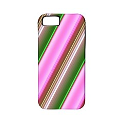 Pink And Green Abstract Pattern Background Apple Iphone 5 Classic Hardshell Case (pc+silicone)