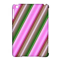 Pink And Green Abstract Pattern Background Apple Ipad Mini Hardshell Case (compatible With Smart Cover)
