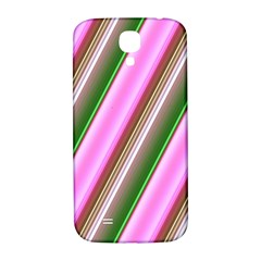 Pink And Green Abstract Pattern Background Samsung Galaxy S4 I9500/i9505  Hardshell Back Case by Nexatart
