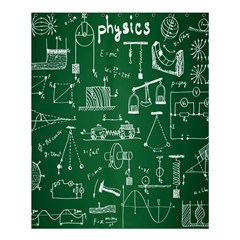 Scientific Formulas Board Green Shower Curtain 60  X 72  (medium)  by Mariart