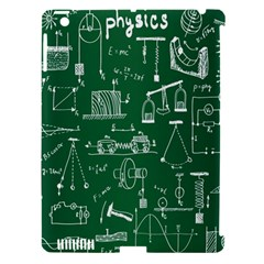 Scientific Formulas Board Green Apple Ipad 3/4 Hardshell Case (compatible With Smart Cover)