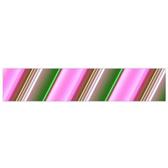 Pink And Green Abstract Pattern Background Flano Scarf (small)