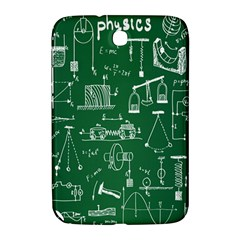 Scientific Formulas Board Green Samsung Galaxy Note 8 0 N5100 Hardshell Case  by Mariart