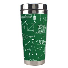 Scientific Formulas Board Green Stainless Steel Travel Tumblers by Mariart
