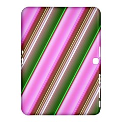 Pink And Green Abstract Pattern Background Samsung Galaxy Tab 4 (10 1 ) Hardshell Case