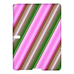 Pink And Green Abstract Pattern Background Samsung Galaxy Tab S (10 5 ) Hardshell Case  by Nexatart
