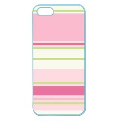 Turquoise Blue Damask Line Green Pink Red White Apple Seamless iPhone 5 Case (Color)