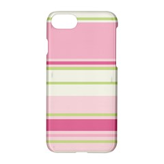 Turquoise Blue Damask Line Green Pink Red White Apple Iphone 7 Hardshell Case
